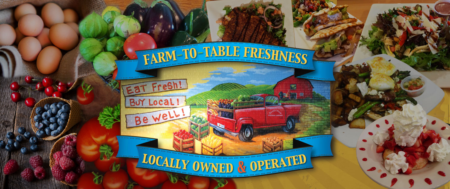 Berry Fresh Cafe - Eat Fresh - Buy Local - Be Well